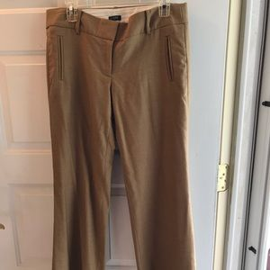 Beautiful camel color wool mix jcrew dress pant